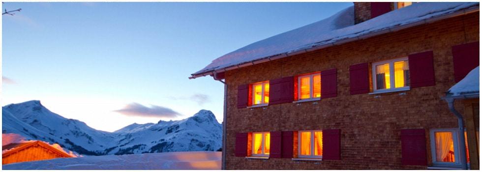 Winter in Schröcken am Arlberg | Schwarzmann's Ferienwohnungen | schneereichstes Skigebiet Österreichs