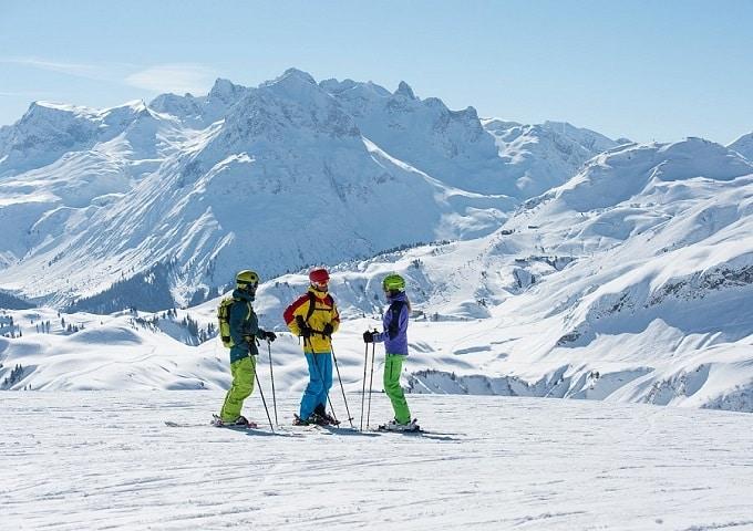 Winter in Schröcken am Arlberg | Schwarzmann's Ferienwohnungen | direkt an der Talabfahrt