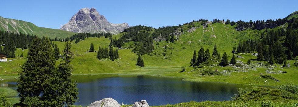 Sommer in Schröcken am Arlberg | Schwarzmann's Ferienwohnungen | Wanderparadies Bregenzerwald